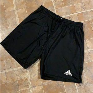 Adidas athletic shorts size men's large